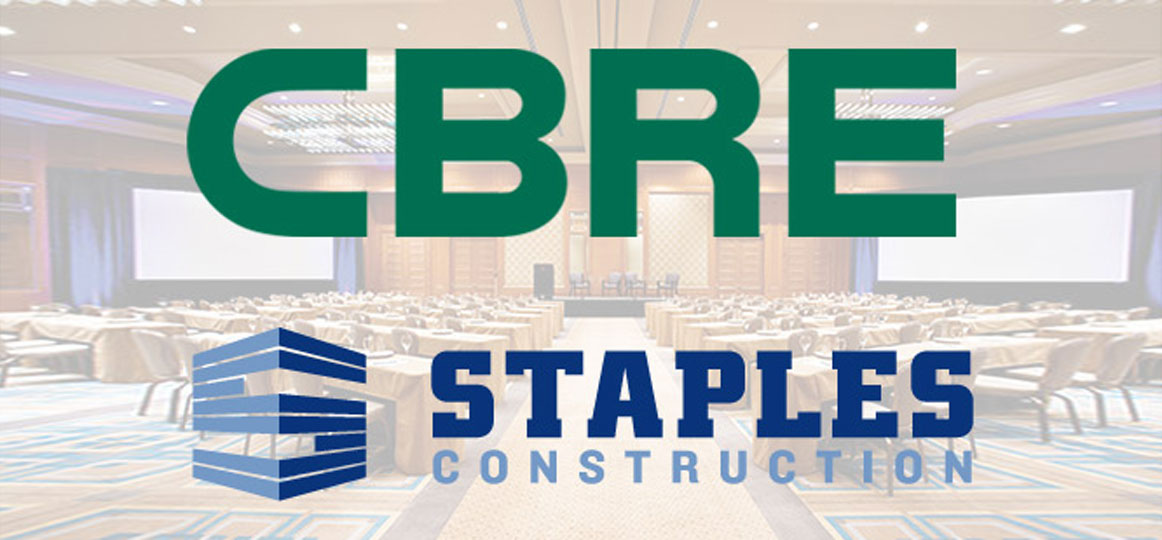 Staples Construction Sponsors CBRE's annual Commercial Real Estate Symposium for the Seventh Year in a Row