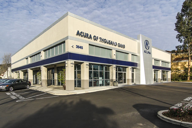 Acura Dealership Construction Project 2