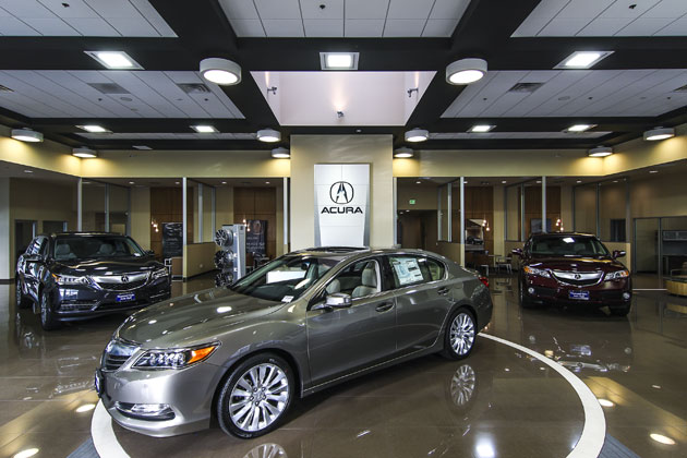 Acura Dealership Construction Project 3