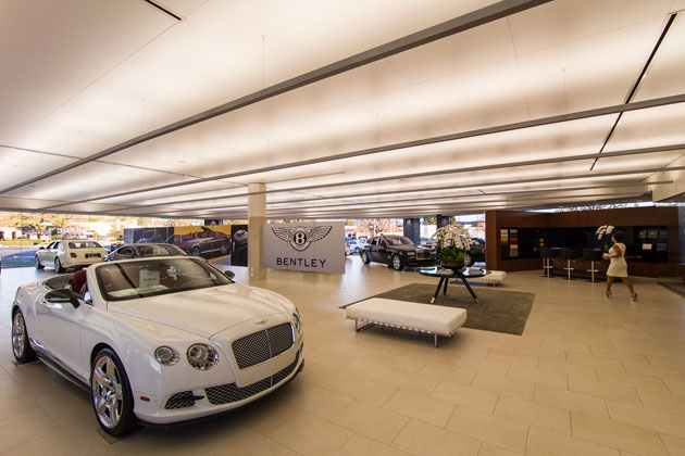 Rolls Royce Bentley Luxury Dealership Project 1