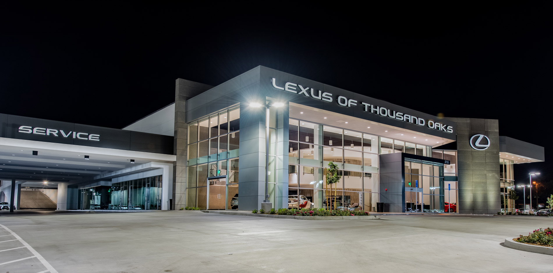 Lexus Dealership Pre-Construction and Construction Management