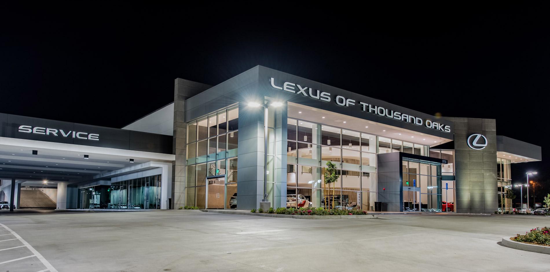 Elegant Lexus Dealership Pre Construction And Construction Management